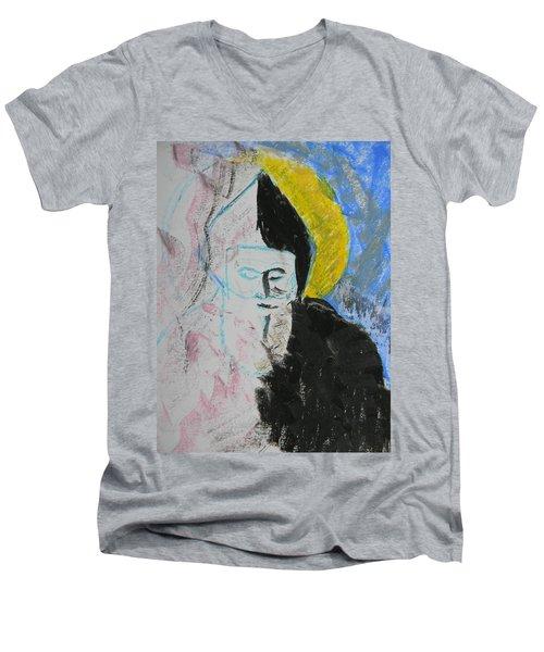Saint Charbel Men's V-Neck T-Shirt