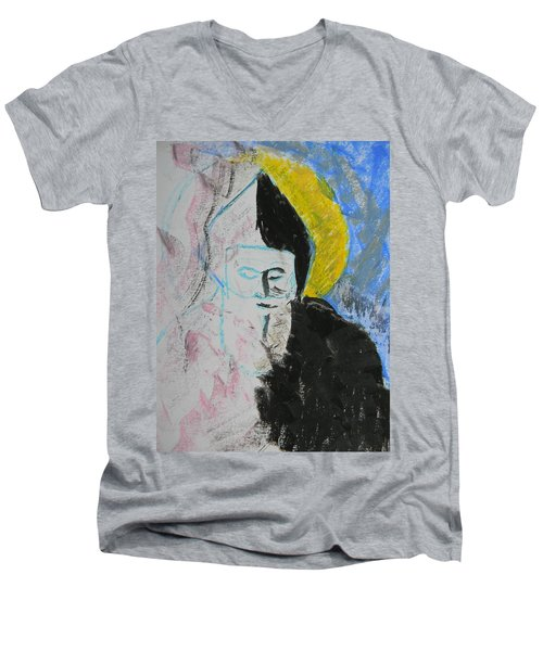 Saint Charbel Men's V-Neck T-Shirt