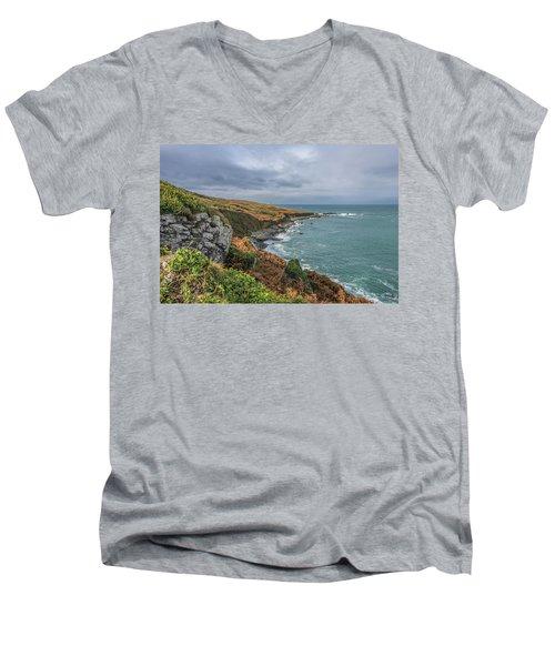 Saint Ives 1 Men's V-Neck T-Shirt