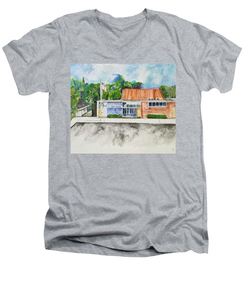 Saint Rose Catholic School Men's V-Neck T-Shirt