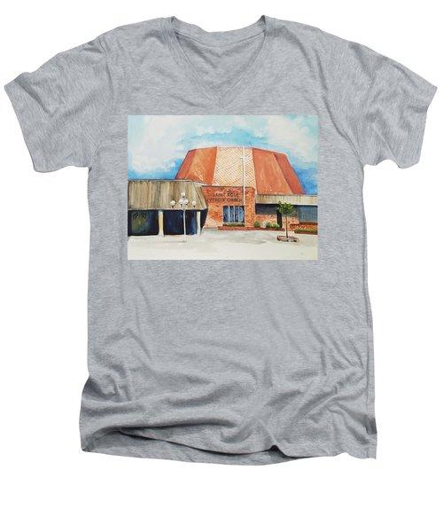 Saint Rose Men's V-Neck T-Shirt