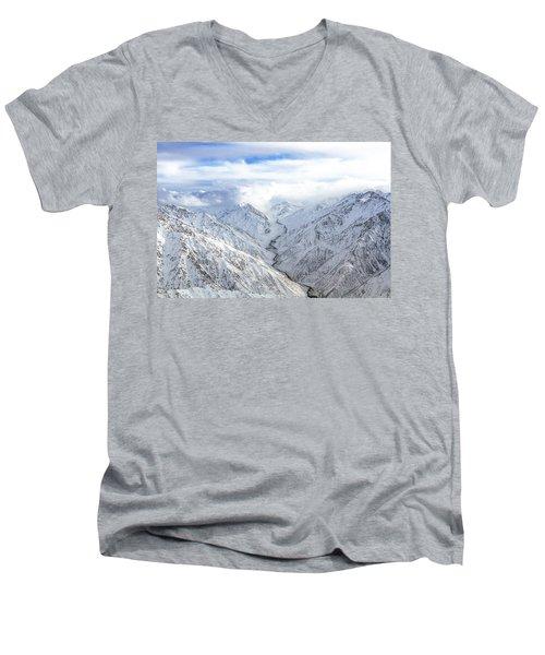 Salang Pass Men's V-Neck T-Shirt