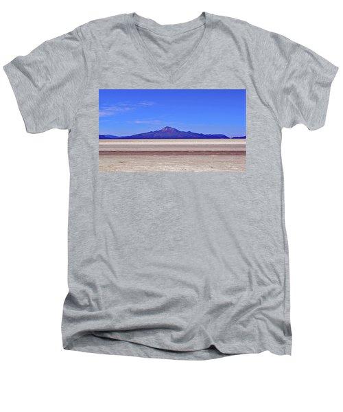 Salar De Uyuni No. 222-1 Men's V-Neck T-Shirt