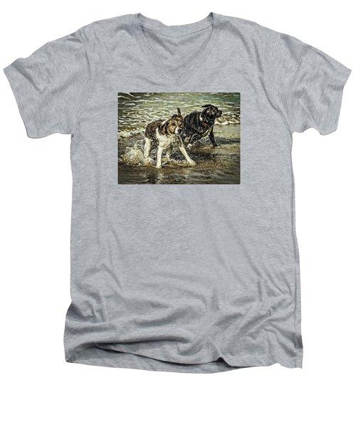Salt And Shake Men's V-Neck T-Shirt