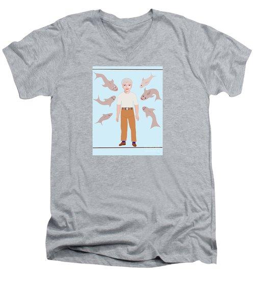 Salt Water Friends Men's V-Neck T-Shirt
