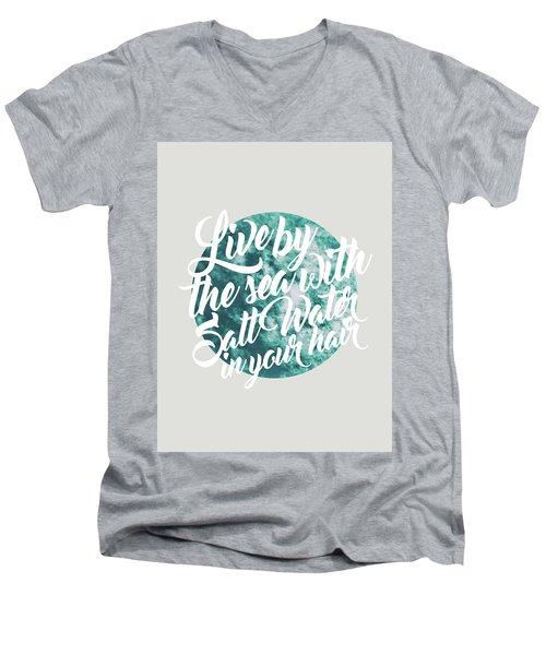 Salt Water Men's V-Neck T-Shirt