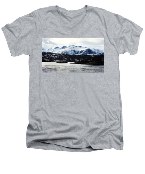Saltstraumen Men's V-Neck T-Shirt by Tamara Sushko