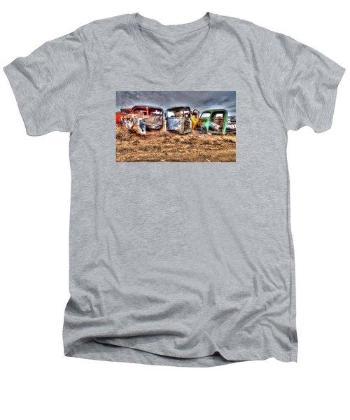 Salvage Yard Men's V-Neck T-Shirt