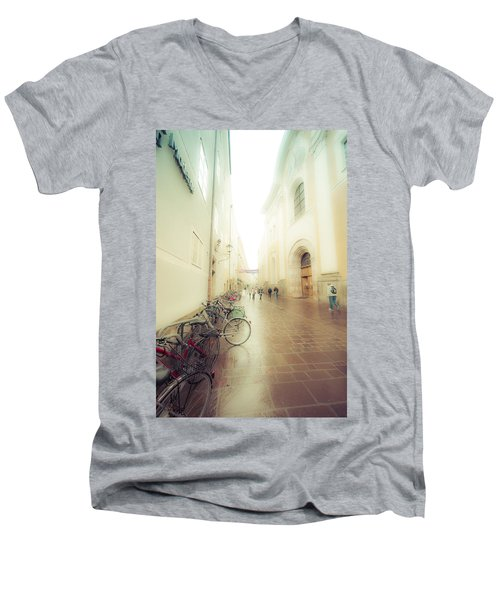 Salzburg Rain Men's V-Neck T-Shirt