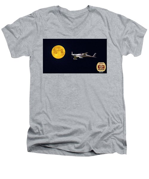 Sam And The Moon Men's V-Neck T-Shirt