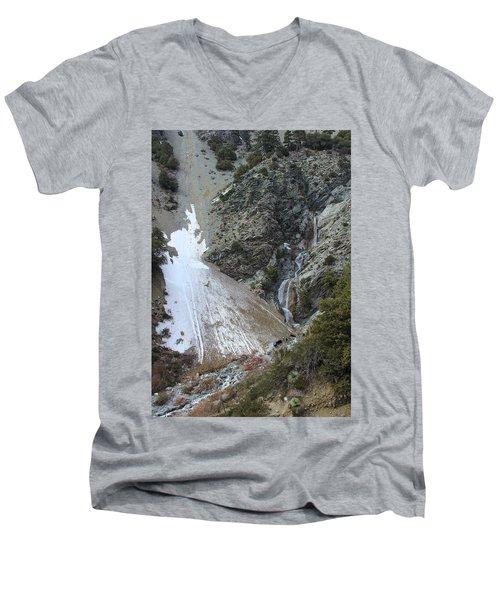 San Antonio Waterfalls Men's V-Neck T-Shirt