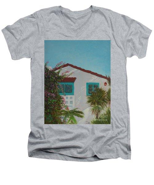 San Clemente Art Supply Men's V-Neck T-Shirt
