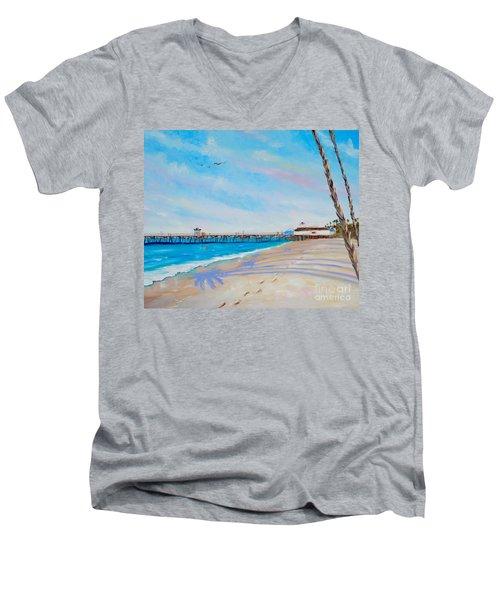 San Clemente Walk Men's V-Neck T-Shirt