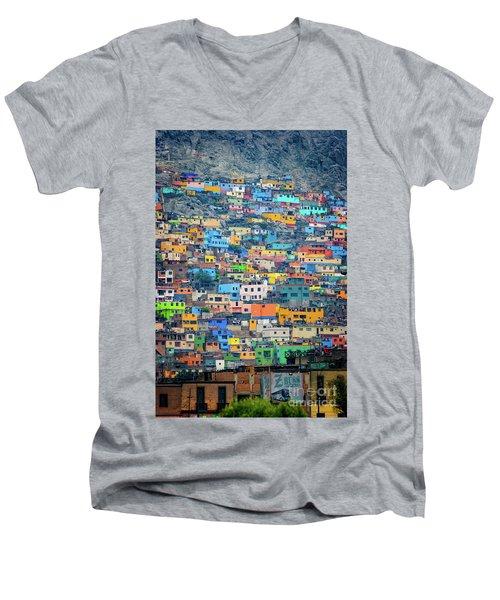 San Cristobal Men's V-Neck T-Shirt