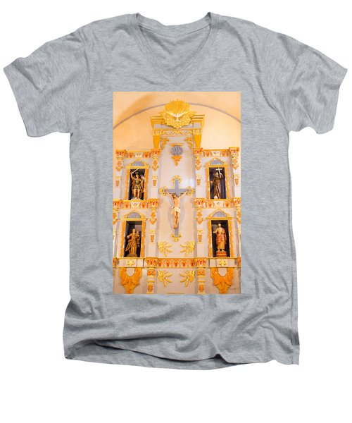 San Jose Chapel Men's V-Neck T-Shirt