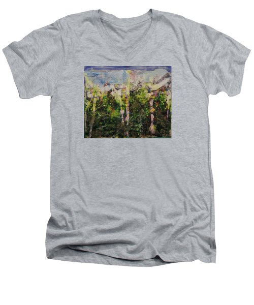 Sanative Men's V-Neck T-Shirt by Ron Richard Baviello