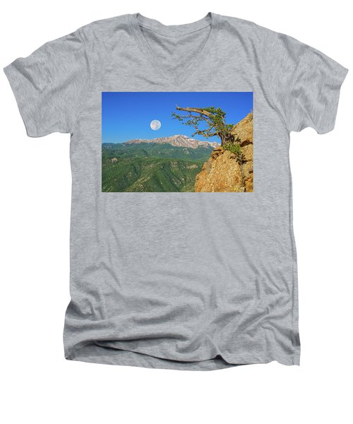 Sanctity Of Nature, The Impetus Behind My Photography Men's V-Neck T-Shirt