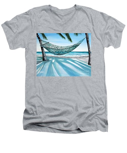Sand And Shadows Men's V-Neck T-Shirt