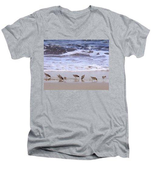 Sand Dancers Men's V-Neck T-Shirt