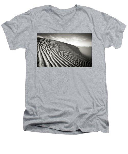 Sand Dune Men's V-Neck T-Shirt by Marius Sipa