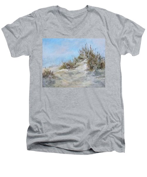 Sand Dunes And Salty Air Men's V-Neck T-Shirt by Barbara O'Toole