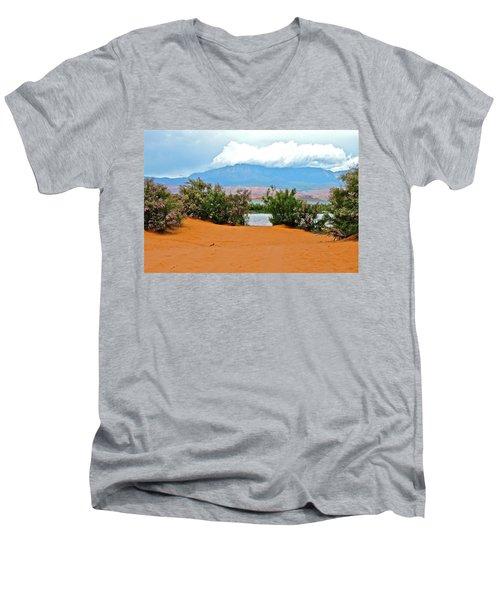 Sand Hallow Reservoir Men's V-Neck T-Shirt