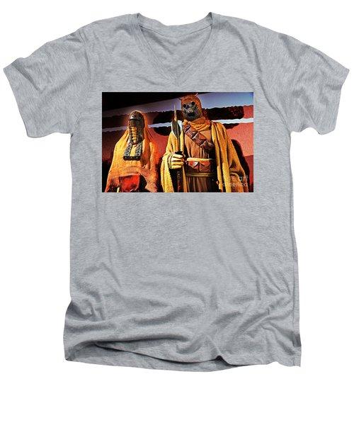 Sand People Men's V-Neck T-Shirt