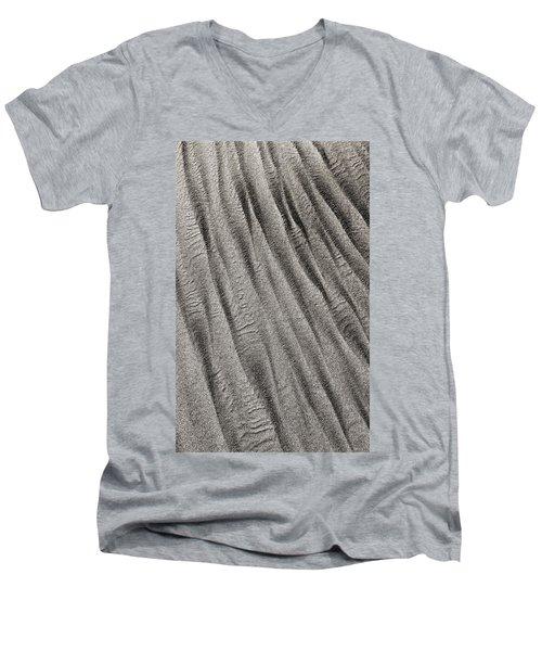 Sand Waves Men's V-Neck T-Shirt