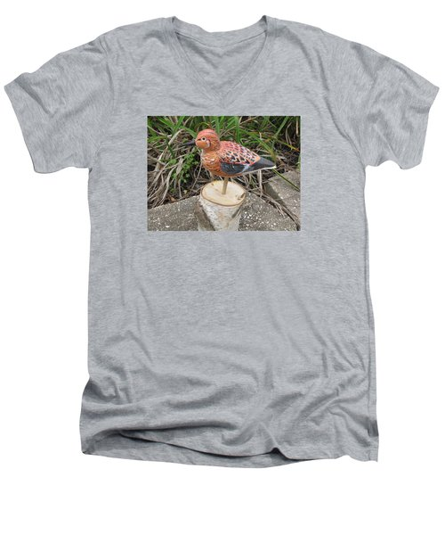 Sanderling Foward 3 Men's V-Neck T-Shirt