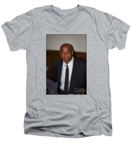 Sanderson - 4536.2 Men's V-Neck T-Shirt