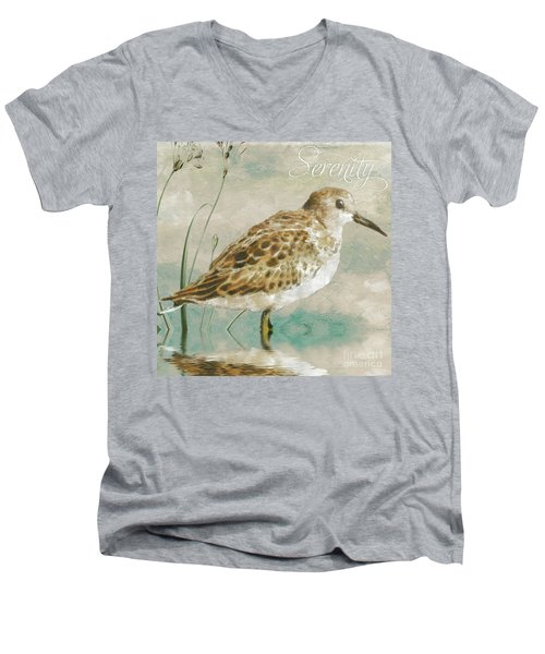 Sandpiper I Men's V-Neck T-Shirt