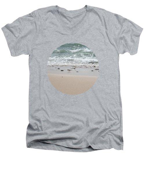 Sandpipers In Tideland Men's V-Neck T-Shirt