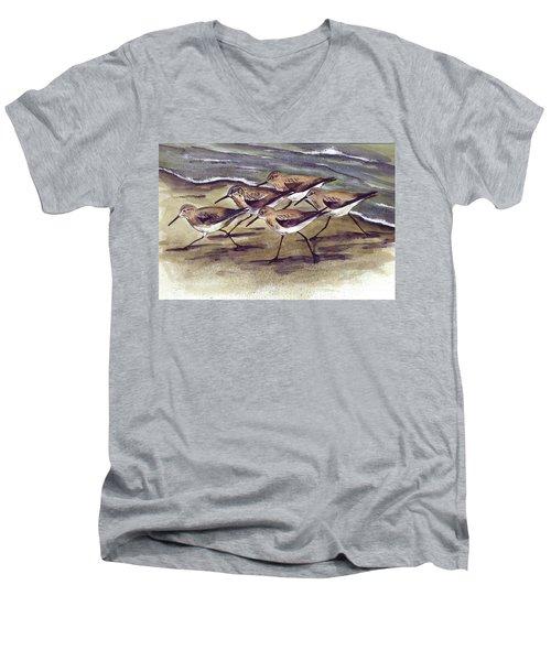 Sandpipers Men's V-Neck T-Shirt