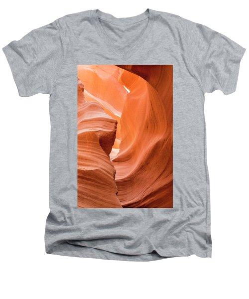 Sandstone Swirls  Men's V-Neck T-Shirt