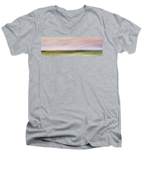 Sandy Neck 6 Men's V-Neck T-Shirt