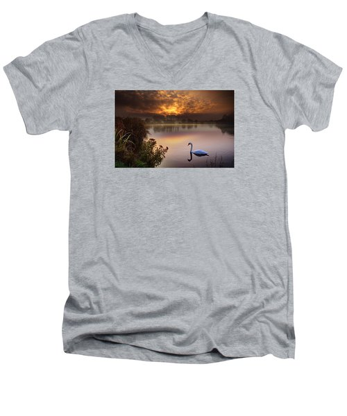 Sandy Water Park 2 Men's V-Neck T-Shirt