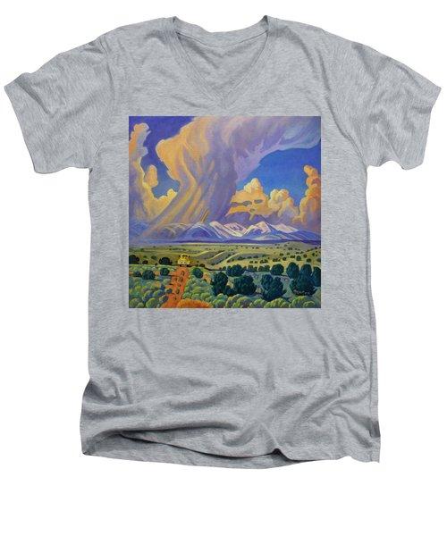 Sangr De Christo Passage Men's V-Neck T-Shirt
