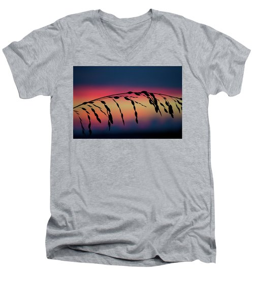 Sanibel Sea Oats Men's V-Neck T-Shirt