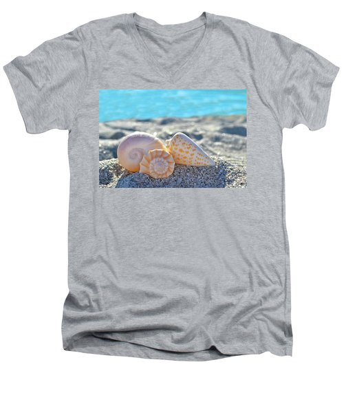 Sanibel Treasures  Men's V-Neck T-Shirt