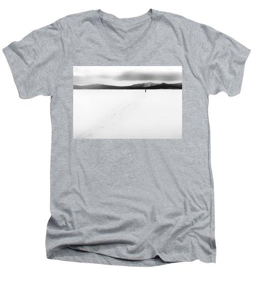 Sannikov Land Men's V-Neck T-Shirt