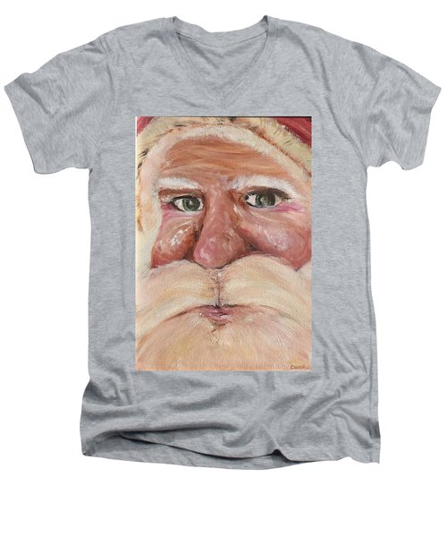 Santa Claus  Men's V-Neck T-Shirt