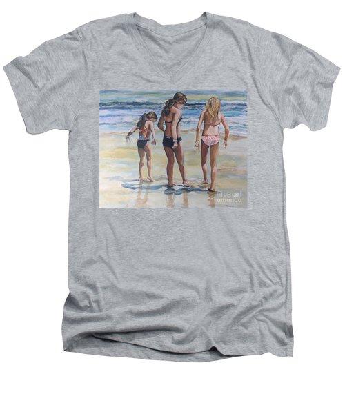 Santa Cruz Memories Men's V-Neck T-Shirt