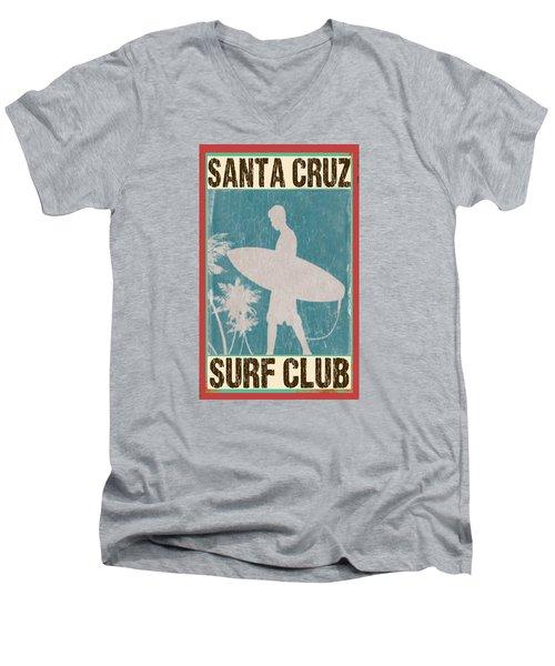 Santa Cruz Surf Club Men's V-Neck T-Shirt
