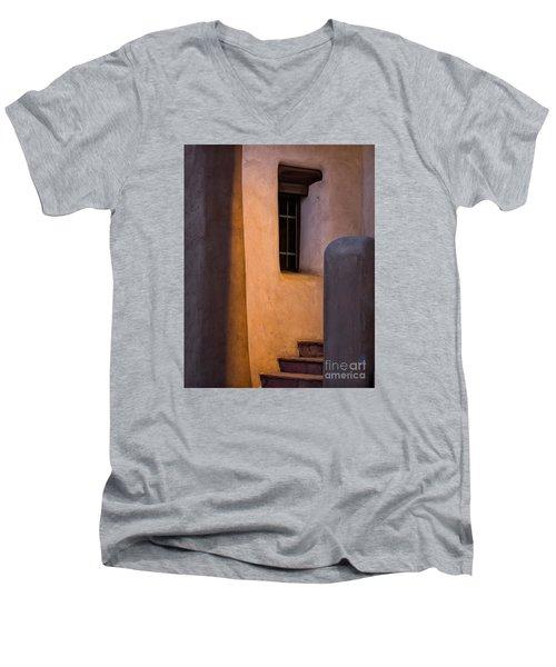 Santa Fe Steps Men's V-Neck T-Shirt