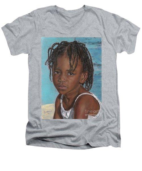 Sara Men's V-Neck T-Shirt