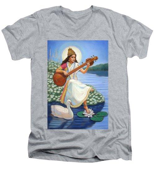 Sarasvati Men's V-Neck T-Shirt