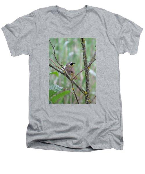 Sassy Men's V-Neck T-Shirt by I'ina Van Lawick