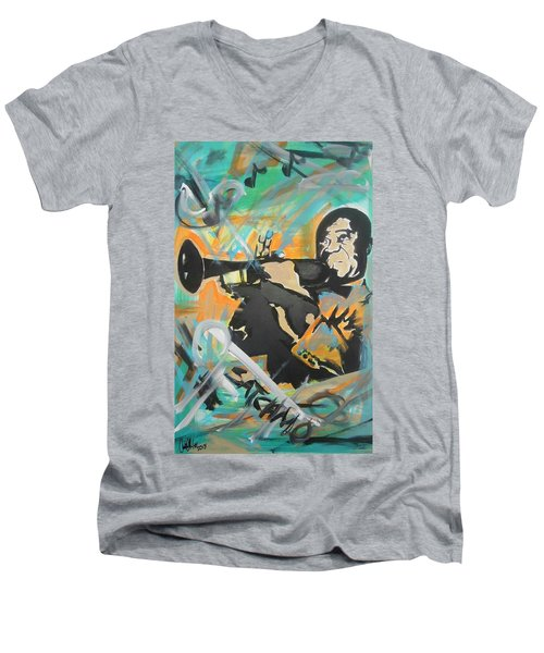 Satch Armstrong Men's V-Neck T-Shirt