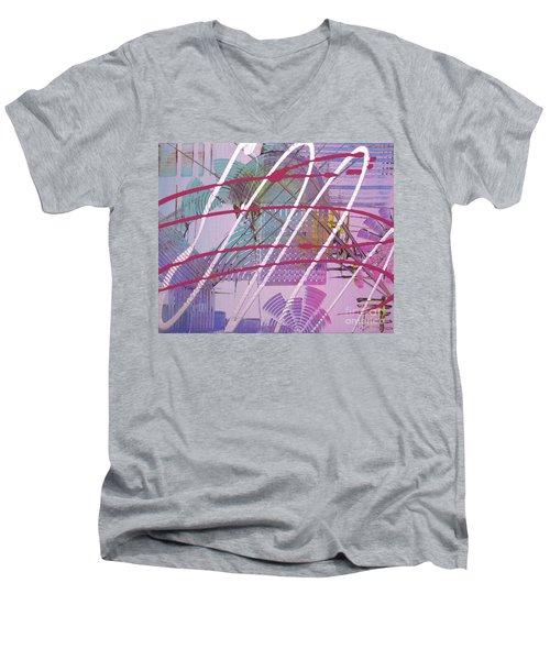 Satellites Men's V-Neck T-Shirt