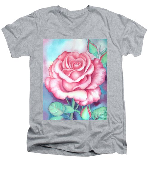 Saturday Rose Men's V-Neck T-Shirt